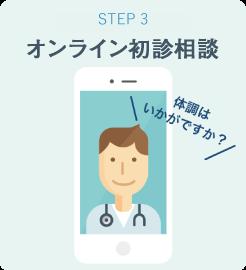 STEP3 オンライン初診相談