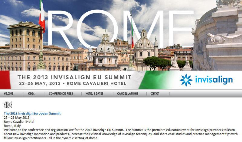 The 2013 Invisalign European Summit
