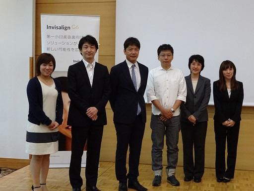 インビザラインG6セミナーと大阪医院研修