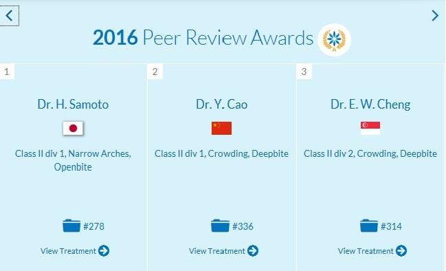 院長の佐本博先生が2016 Peer Review Awardsを受賞しました!