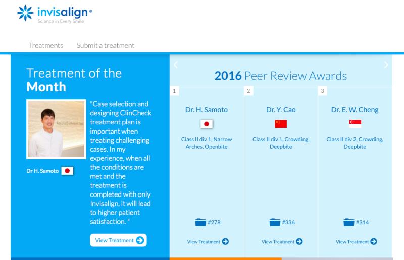 インビザライングローバルギャラリーのTreatment of the Monthを受賞しました!